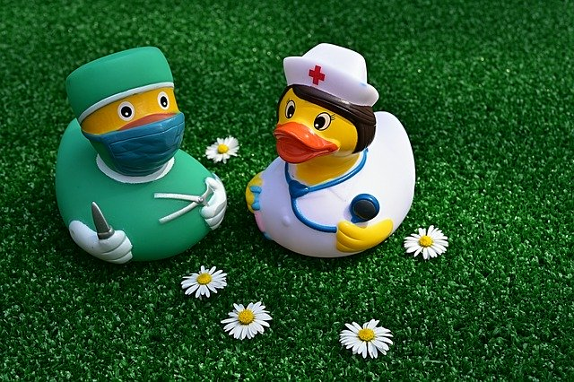 Surgeon Operation Rubber Duck Nurse